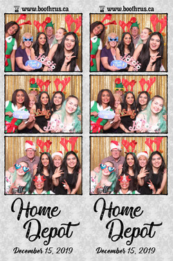 Home Depot Christmas Party