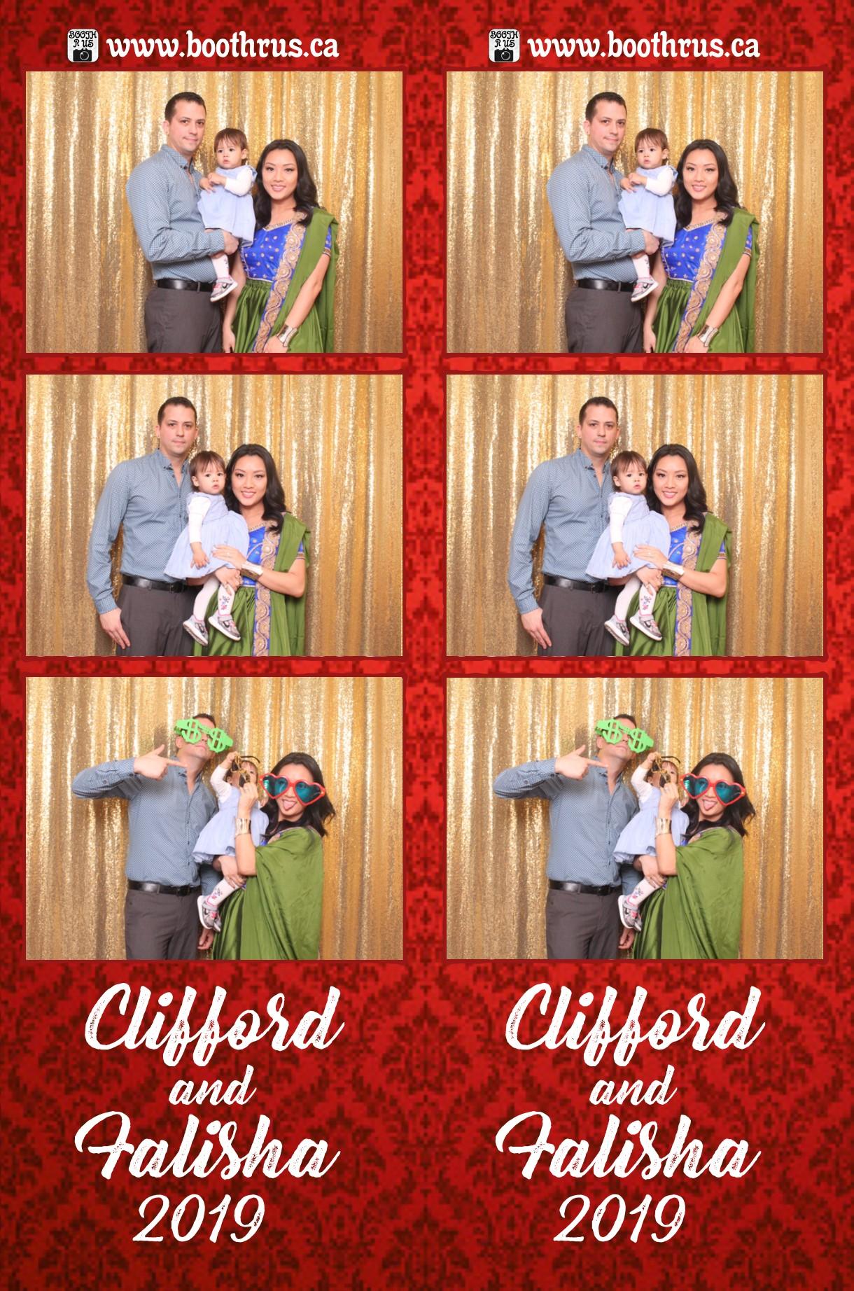 Clifford and Falisha Wedding Day