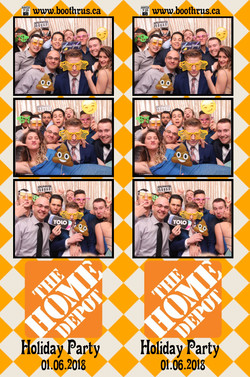 Home Depot Holiday Party