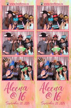 Aleena's 16th Birthday Party