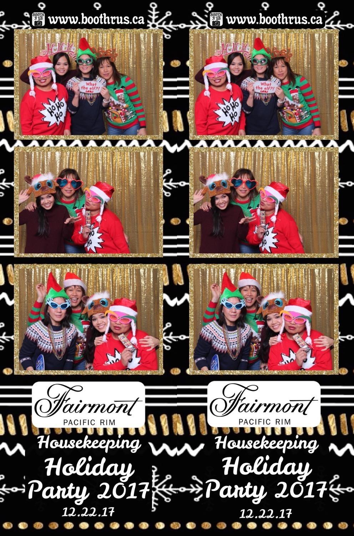 Fairmont Christmas Party