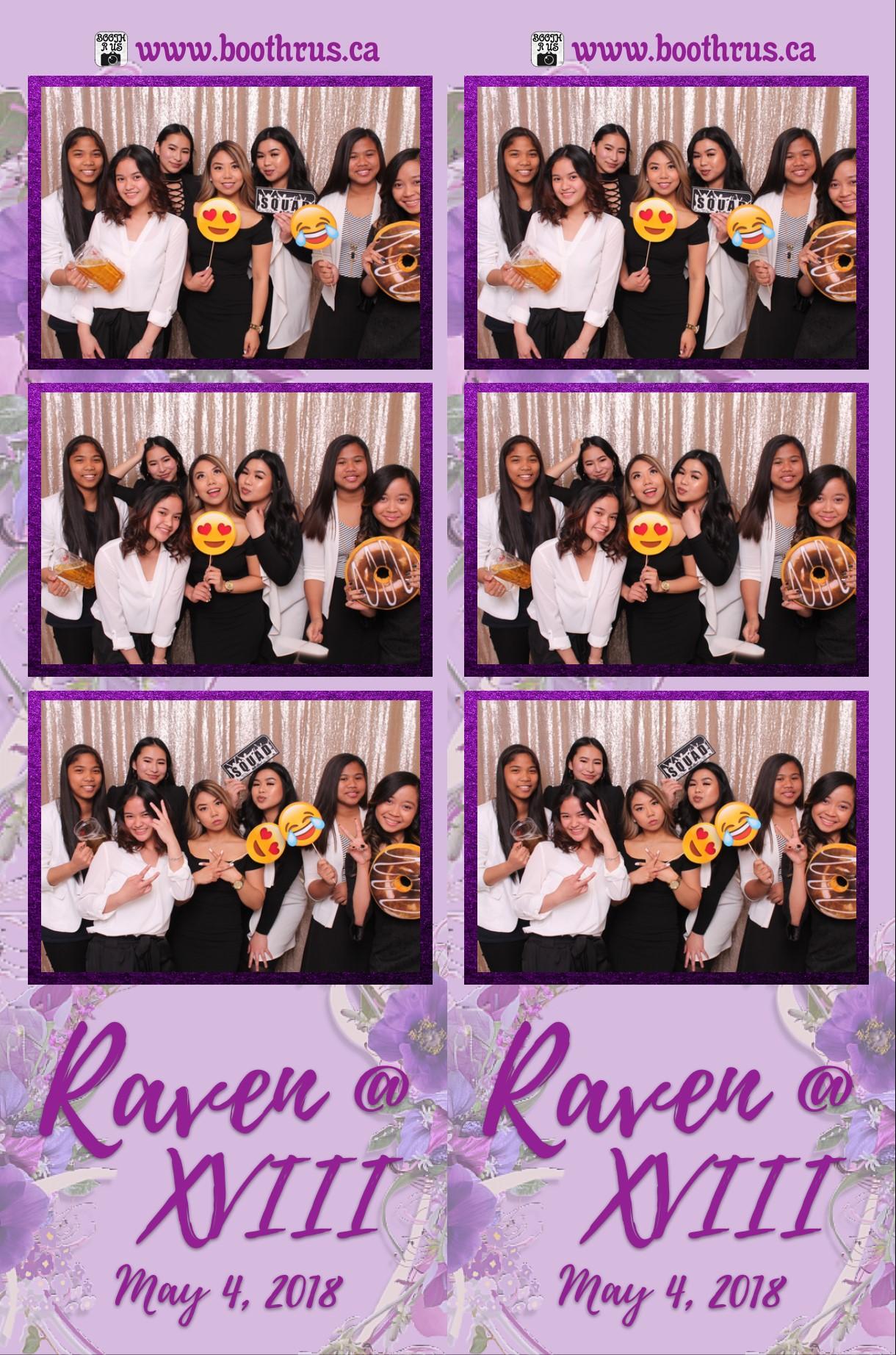 Raven @ XVIII