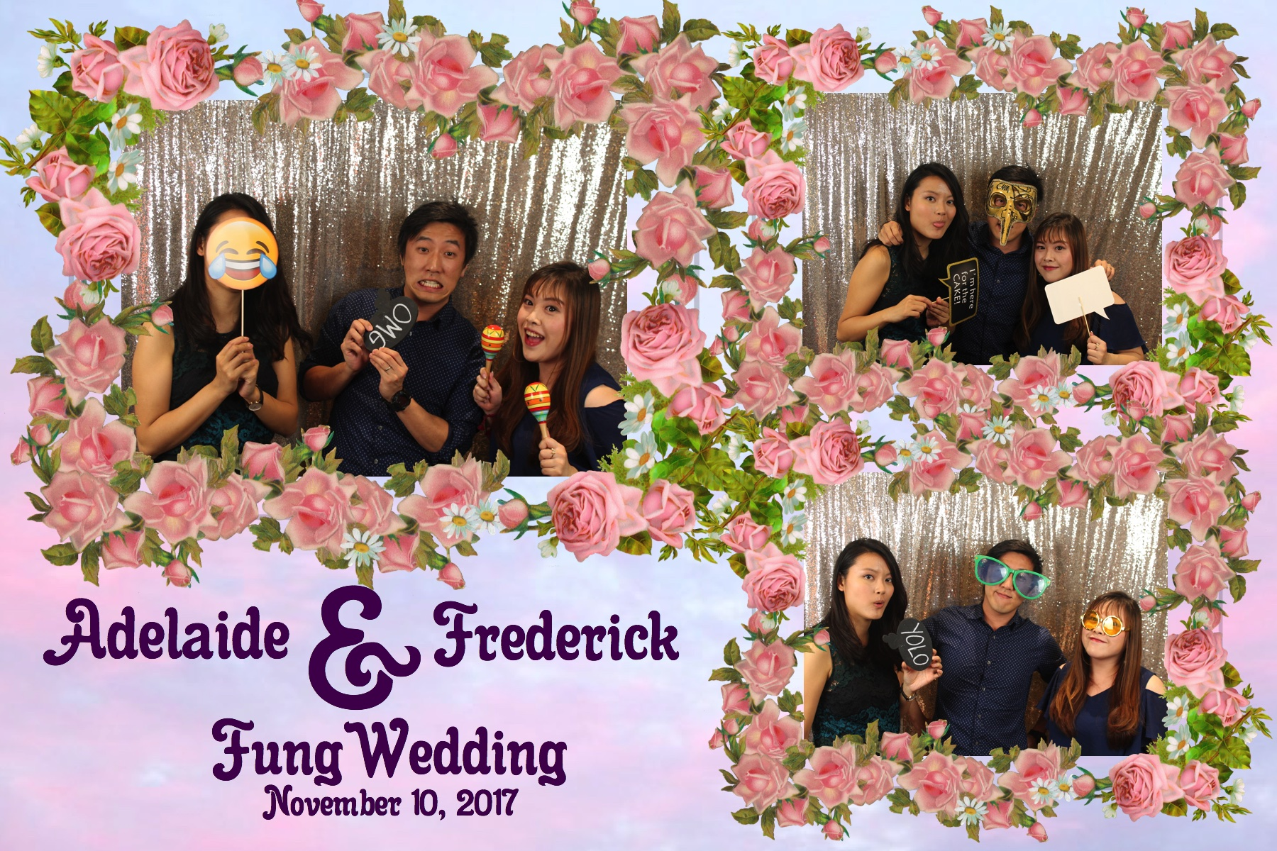 Adelaide & Frederick Fung's Wedding