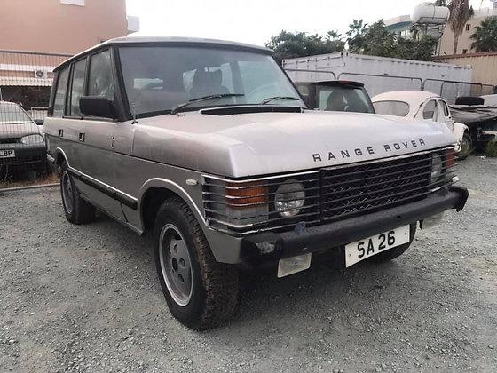 Land Rover Range Rover, 1986
