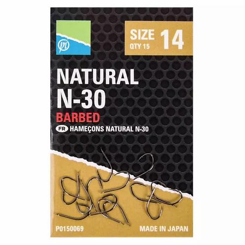 Preston Natural N-30 Barbed Hook