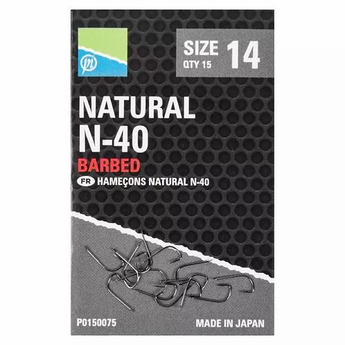 Preston Natural N-40 Barbed Hook