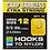 Thumbnail: Preston Barbless Carp Hooks To Xtra Strong Nylon