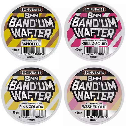 Sonubaits 8mm Band'um Wafters