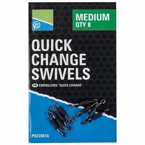 Preston Quick Change Swivels
