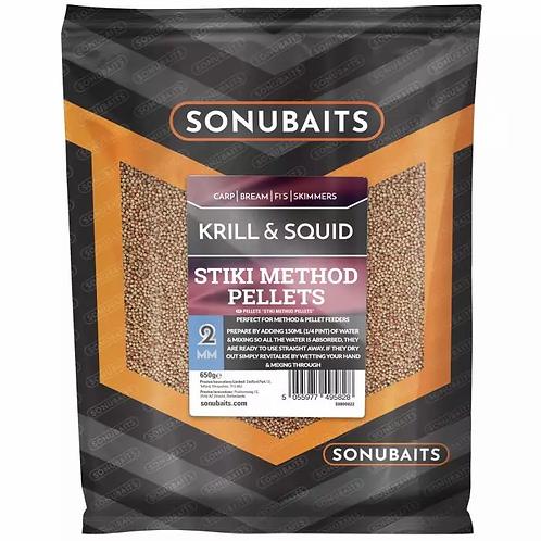 Sonubaits Stiki Method Pellets Krill & Squid