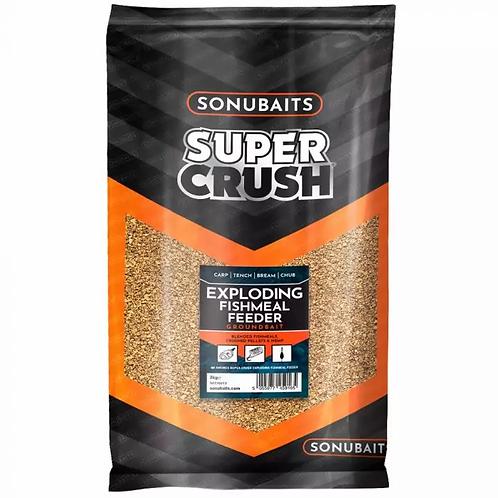 SonuBaits Exploding Fishmeal Feeder Mix