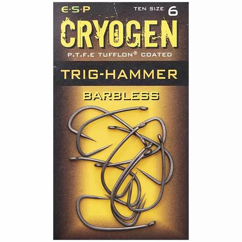 ESP Barbless Cryogen Trig-Hammer Hooks