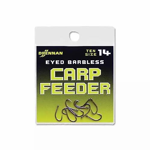 Drennan Eyed Barbless Carp Feeder Hooks