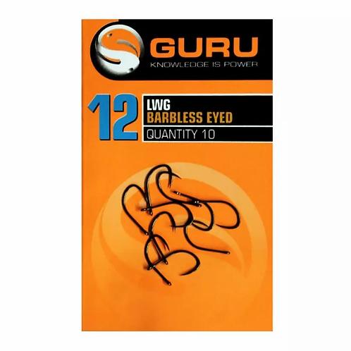 Guru LWG Eyed Hooks