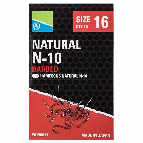 Preston Natural N-10 Barbed Hook