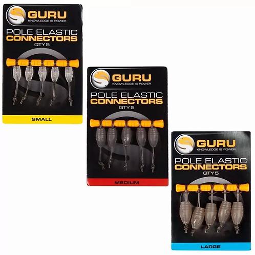 Guru Pole Elastic Connectors
