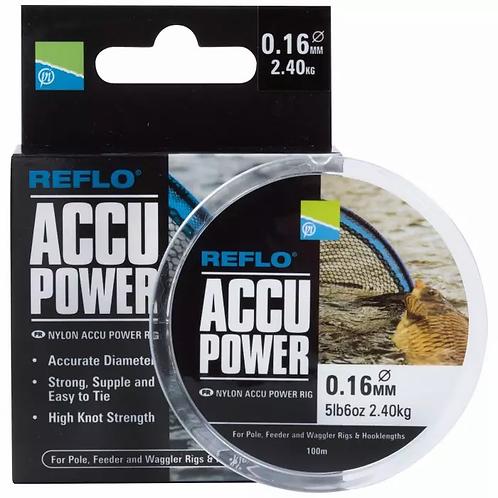 Preston Reflo Accu Power Line