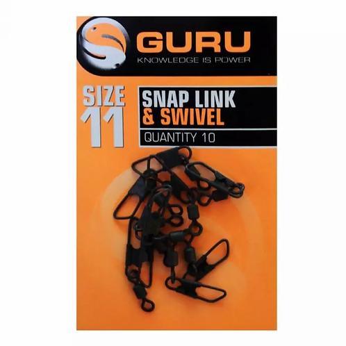 Guru Snap Link and Swivel (Size 11)