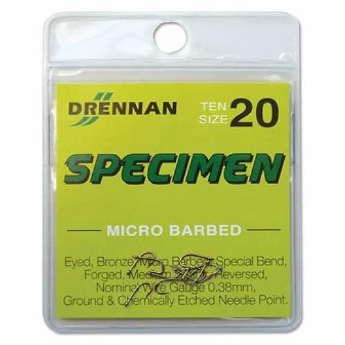 Drennan Micro Barbed Specimen Hooks