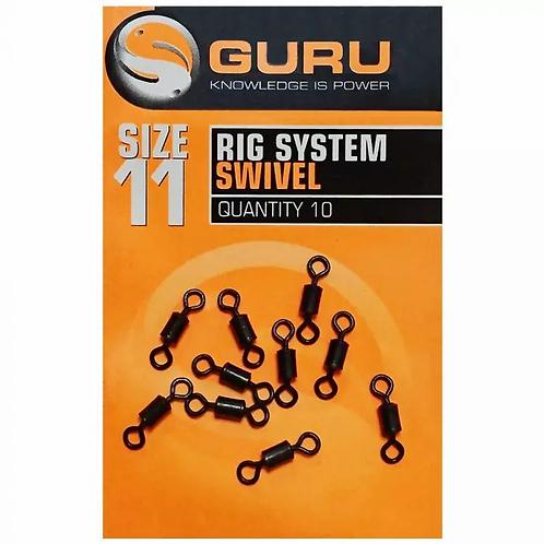 Guru Rig System Swivels