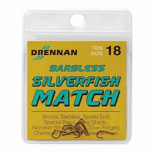 Drennan Silverfish Match Hooks