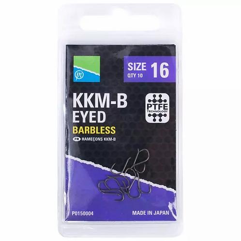 Preston KKM-B Eyed Barbless Hooks