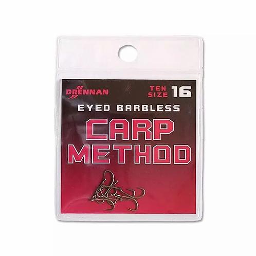 Drennan Eyed Barbless Carp Method Hooks