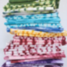Hand Dyed Fat Quarter Stack