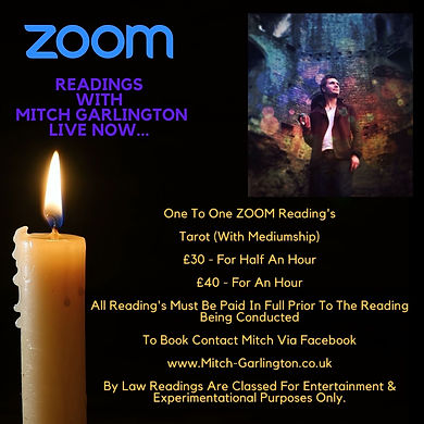 Join Mitch Sunday 8th November At 4pm Fo