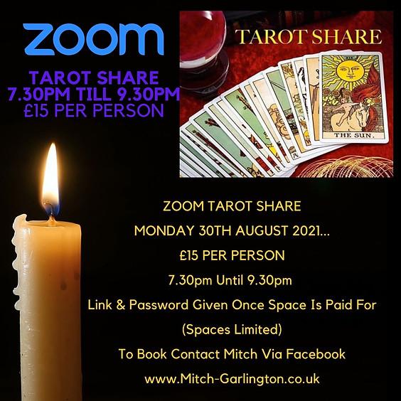 Zoom Open Circle Tarot Share