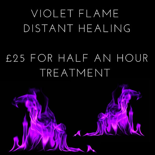 Violet Flame Distant Healing Treatment