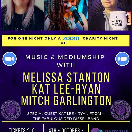 A Charity Night Of Music & Mediumship With Melissa Stanton, Kat Lee - Ryan & Mitch Garlington