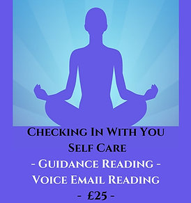 Checking In With You Self Care - Tarot Guidance - Voice Recorded Email
