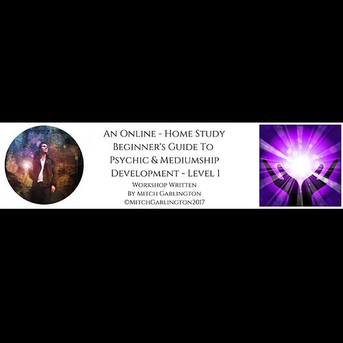 Home Development Workshop - Psychic & Mediumship