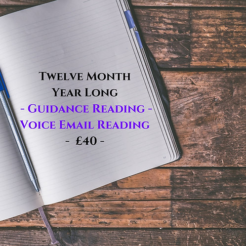 Twelve Month - Voice Recorded - Guidance Email Reading