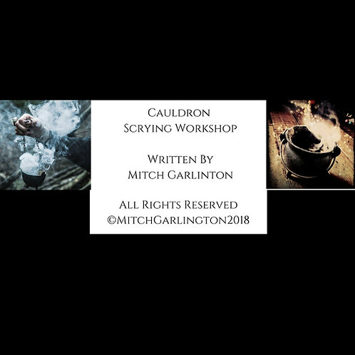 Online Only - Cauldron Scrying Workshop