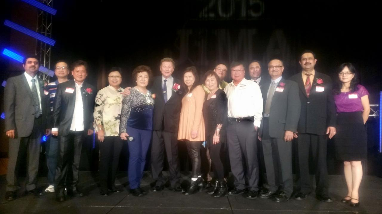 Board of directors at Tucson Party 2017