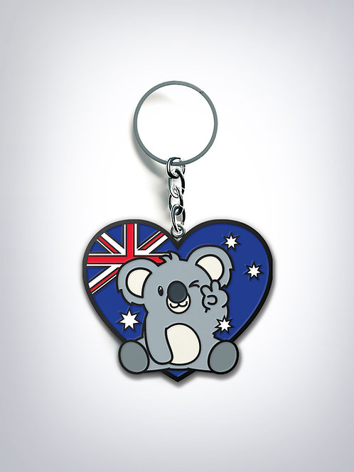 Pray for Australia - KEYCHAIN