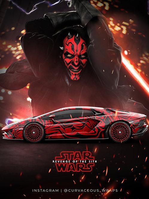 Darth Maul - Sith Lord Wrap