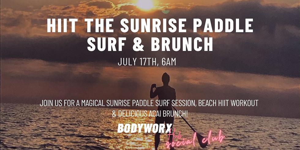 Sunrise Paddle Surf, HiiT & Brunch