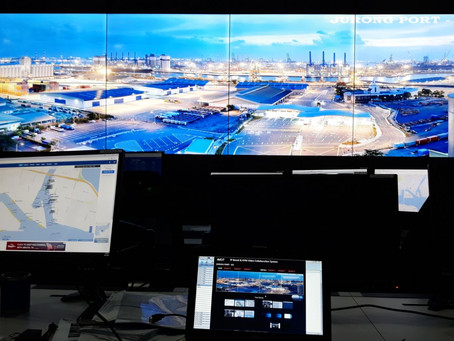 Jurong Port Singapore's Integrated Command Centre (ICC) Innovations