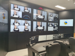Video Conference Control Room