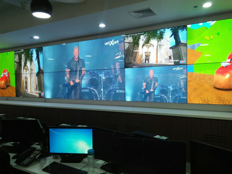 Network Operation Command Center installed in Manila