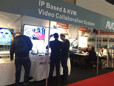 Debut of IP Based & KVM Video Collaboration System at ISE 2017