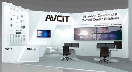 Welcome to Experience Smart Workspace at ISE 2019-AVCIT booth 15-D255