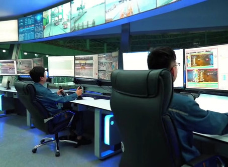 New Control Room for Shanghai Baosteel Logistic