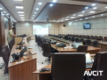 Conference Control System for Tehran Province Government