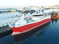 Iceland first electric vessel