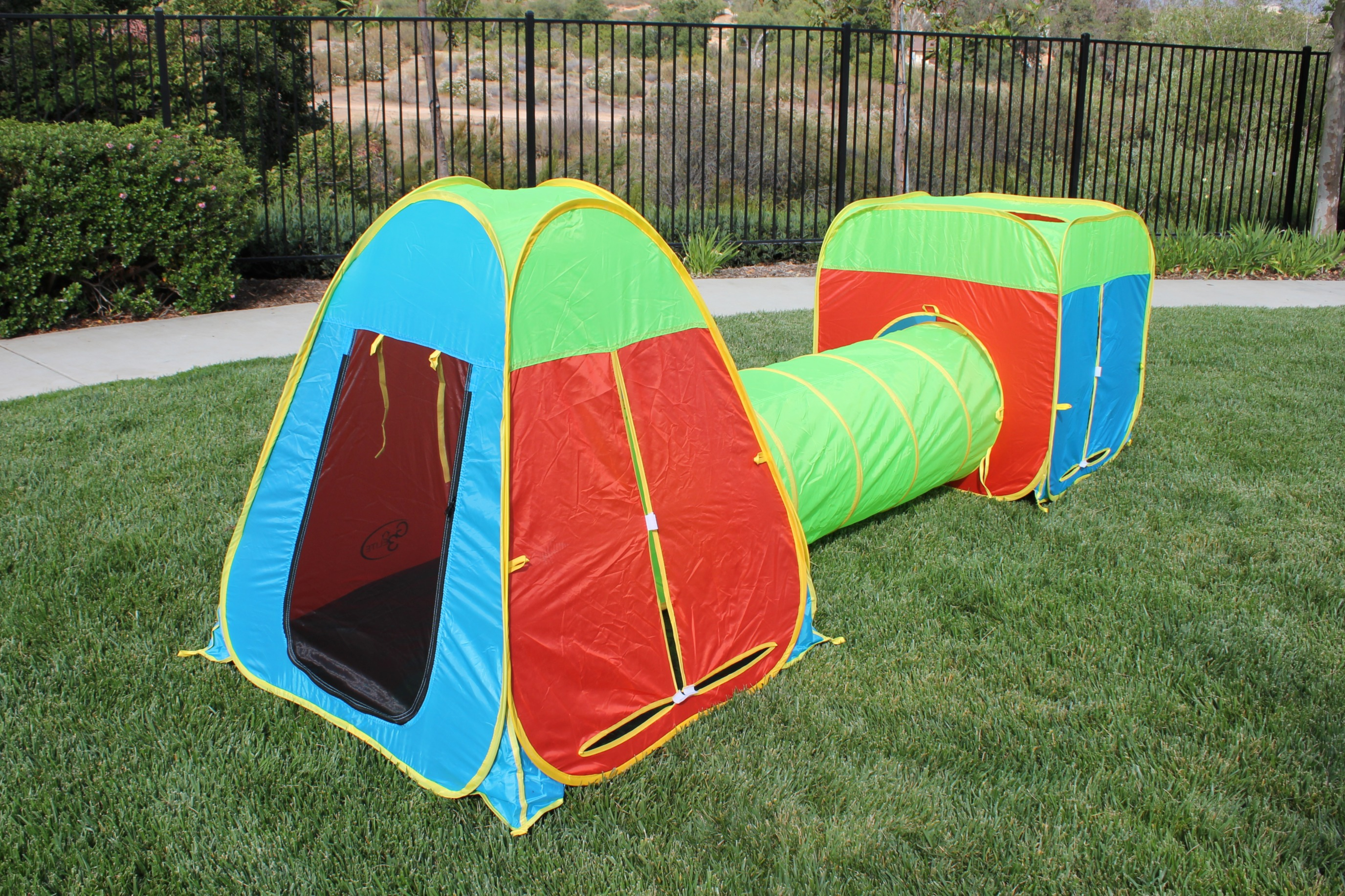 Kids Tri-Color Play Tent
