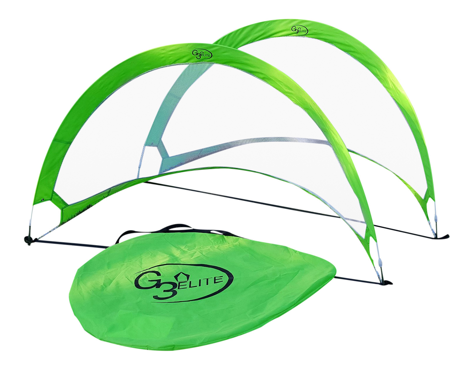 5 Footer Lime Green Pop Up Goal